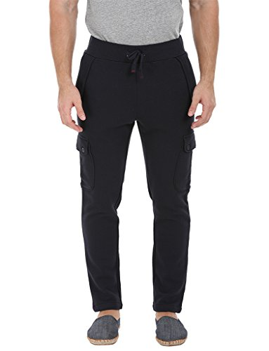 Zobello-Mens-Knit-Heather-Cargo-Sweatpants