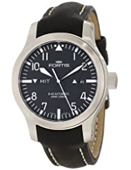 Fortis Men's 655.10.11L.01 B-42 Flieger Automatic Black Dial Watch