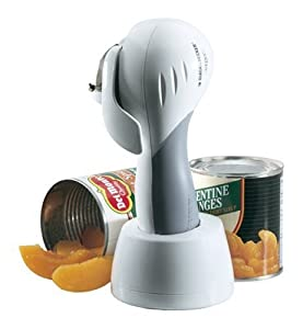 Black & Decker KEC600 Cordless Can Opener, White
