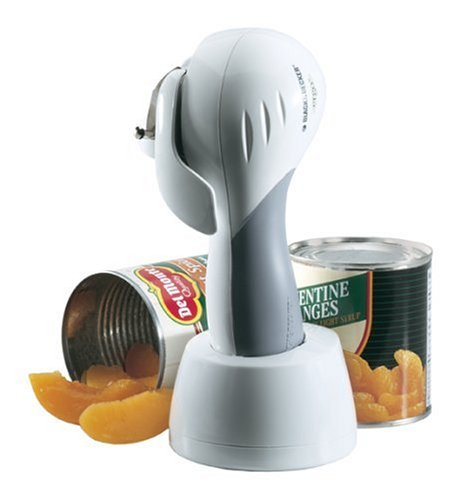 Black & Decker KEC600 Cordless Can Opener, White (Ergo Cordless Can Opener compare prices)