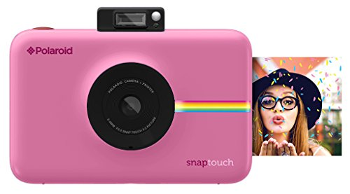 Digital Camera With LCD Display (Pink) with Zink Zero Ink Printing Technology