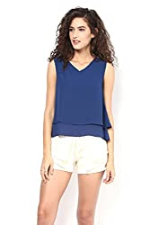 Blue Layered Summer Top