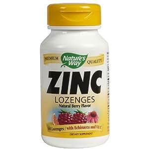 Natures Way Zinc Lozenges With Echinacea And Vitamin C
