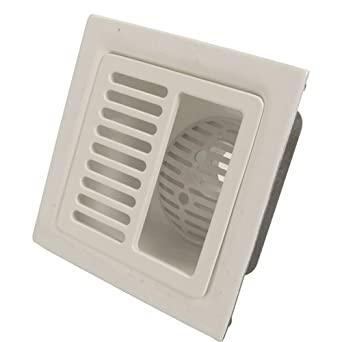 Amazon Com Zurn Half Grate Floor Sink Fd2375 3nh H
