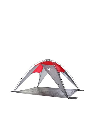 Guro Outdoor Horizon Sun & Wind Shelter, Red/Grey