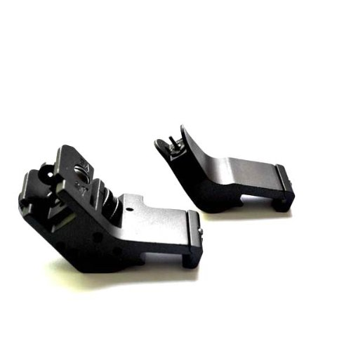 Noga New Design Gdt Ar15 Ar 15 Front And Rear 45 Degree Rapid Transition Buis Backup Iron Sight