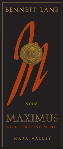 Bennett Lane Winery 2008 Maximus Red Feasting Wine Blend-Red Napa Valley 750mL