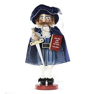 Kurt Adler Steinbach 17-Inch Limited Edition German Nutcracker Shakespeare Series, Hamlet, Prince of Denmark