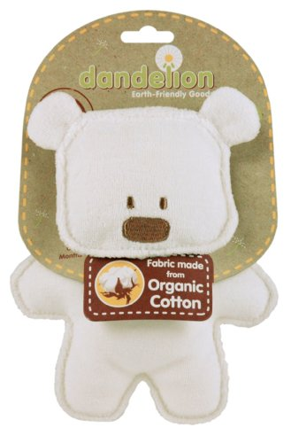 Dandelion Classic Organic Toy Crinkle Bear [Baby Product]