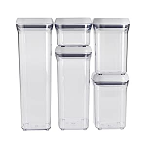 Amazon Com Oxo Good Grips 5 Piece Pop Container Set