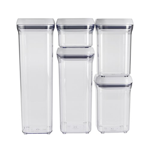 OXO Good Grips 5-Piece POP Container Set (Oxo Pop Spaghetti compare prices)