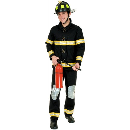 Fireman Costume - Large - Chest Size 42
