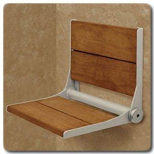 Fold Down Shower Seat SerenaSeat 3x Stronger Than Teak Heal