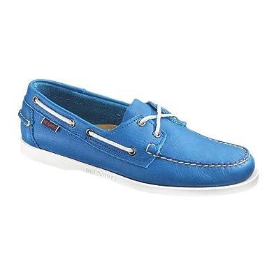 Sebago Men's Docksides Boat Shoes - Bright Blue 11.5 - Medium