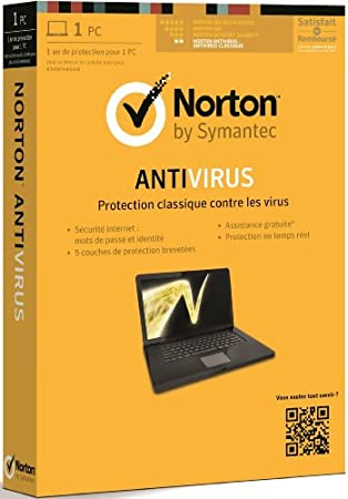 Norton antivirus 2013 (1 poste, 1 an)