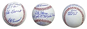 MLB Baseball Autographed By Bob Friend Inscribed Last Game at Polo Grounds, Fritz... by Athletic+Promotional+Events+Inc.