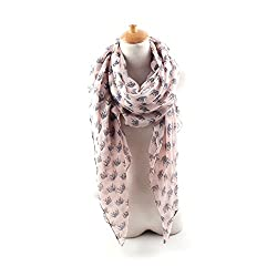 AngelShop Women Thailand Elephant Printed Encryption Scarves Shawl BYWJ