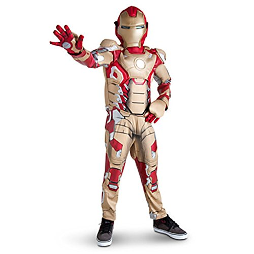 Disney Exclusive Iron Man 3 Deluxe Light-up Costume for Little Boys - Size 2/3