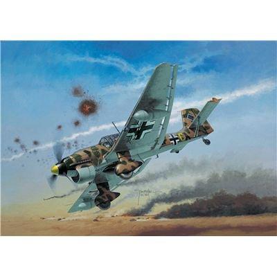 Revell-Modellbausatz-04620-Junkers-Ju-87-B2R2-Stuka-im-Mastab-172