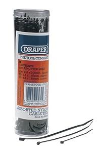 Draper 56230 Serre-câbles en nylon Plusieurs tailles Lot de 200 (Import Allemagne)