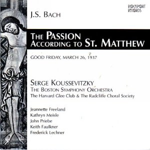 Saint Matthew Passion