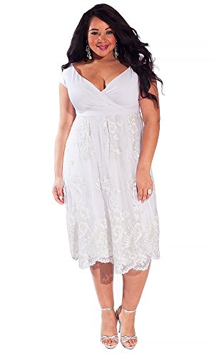 Igigi Womens Plus Size Paulette Wedding Dress 1416