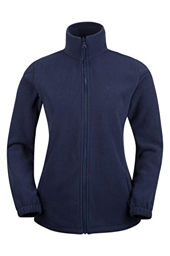 Mountain Warehouse Fell Wasserabweisende Damenjacke mantel 3 in 1 rausnehmbarer Fleece-Innenteil Multifunktionsjacke mantel Regenjacke mantel Marineblau DE 38 (EU 40)