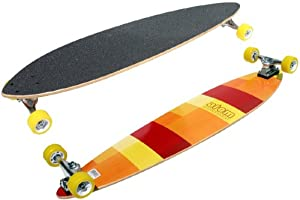 Atom Pin-Tail Longboard (39-Inch) by Atom Longboards