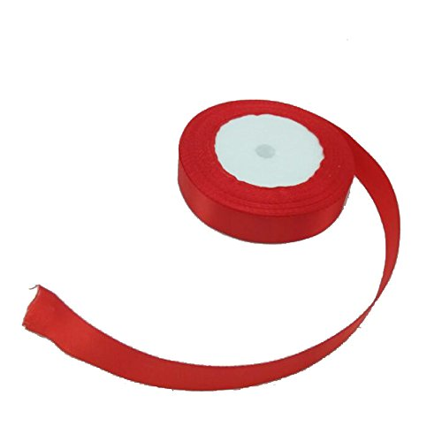 Find Bargain 2 Cm Wide Ribbon, Silk Ribbon (Red)