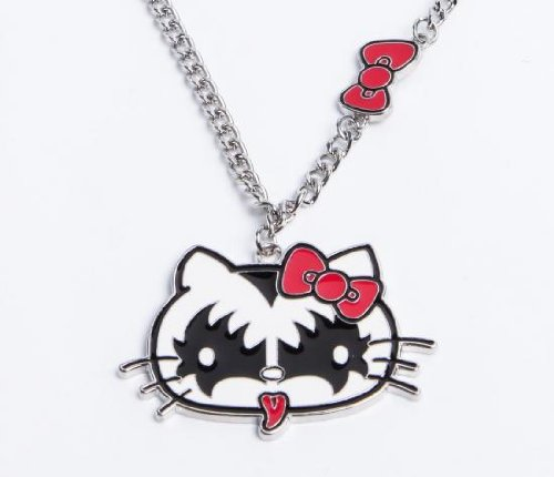 [Hello Kitty US limited edition] KISS X Hello Kitty necklace