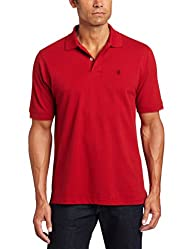 IZOD Mens Short-Sleeve Basic Heritag…