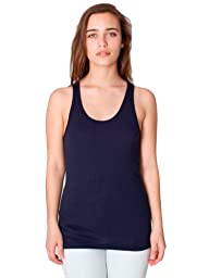 American Apparel Unisex Poly-Cotton Tank - Navy / S