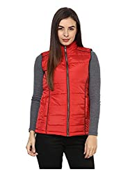 Yepme Women's Red Polyester Jackets - YPMJACKT5187_M