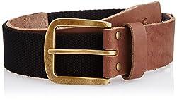 Wac Men's Leather Belt (WRAL0263_Black) (8907222029753)