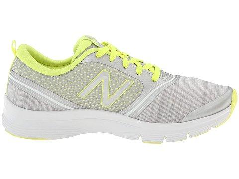888098214116 - New Balance Women's 711 Heather Cross-Training Shoe,Grey/Yellow,11 B US carousel main 4