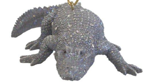 December Diamonds Zoology Alligator Ornament-Rhinestones Sparkle!- Discontinued Valuable Limited Edition!!!