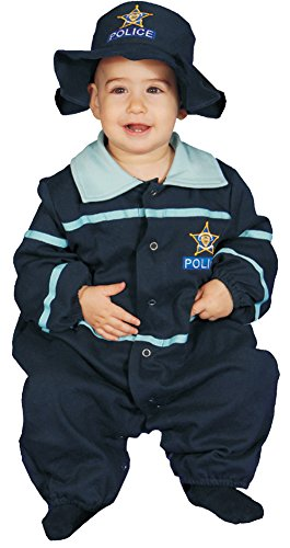 Baby Costumes - Police Officer Baby Costume 9-12 Months