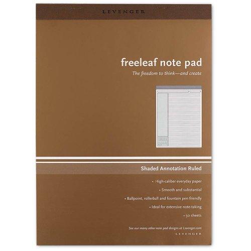 Levenger Freeleaf Shade Annotation Ruled Pads, Letter (5) (ADS3610) (Annotation Ruled Pads compare prices)