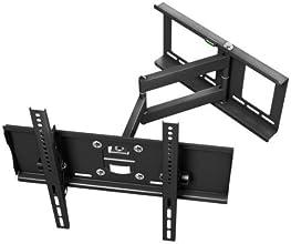 Ricoo ® Support Mural TV R23 pivotant inclinable Plasma LCD LED Support pour écran 76-165 cm (30-65') VESA universel compatible avec tous les fabricants de télévisions ***Particularité Ultra-Slim avec distance du mur seulement 107mm***
