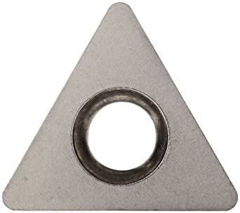 Sandvik Coromant Uncoated Carbide Turning Insert, SM30 Grade, Triangle Shape (Pack of 10)