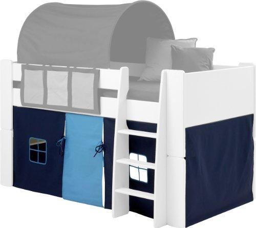 steens-kids-tent-for-mid-sleeper-bed-dark-light-blue