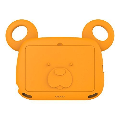 iPad 4/3/2 Case for Kids, OZAKI O!kiddo BOBO BEAR Antibacterial Kids Case Set (Ages 2~6)?ith Foam Face Cover and Handy Shoulder Strap for iPad 4,3,2 / Soft Protective Non-Toxic iPad Case - Yellow by Ozaki [並行輸入品]