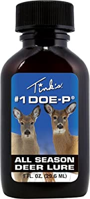 Tink's #1 Doe-P Deer Lure (1-Ounce)