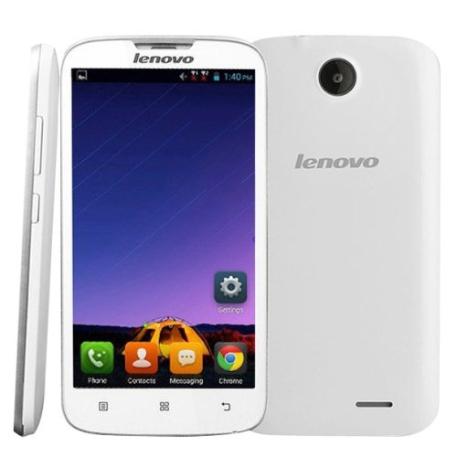Lenovo A560 Smart Phone 5.0 inch 3G Android 4.3 Cell Phone Qualcomm MSM 8212 Cortex A7 1.2GHz Quad Core , RAM: 512MB + ROM 4GB WCDMA & GSM, Dual SIM