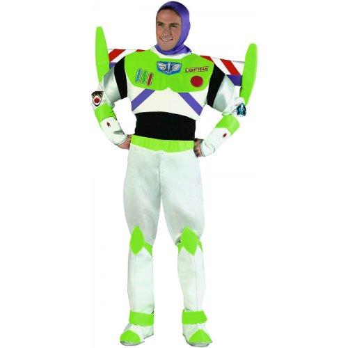 Buzz Lightyear Prestige Costume - X-Large - Chest Size 42-46