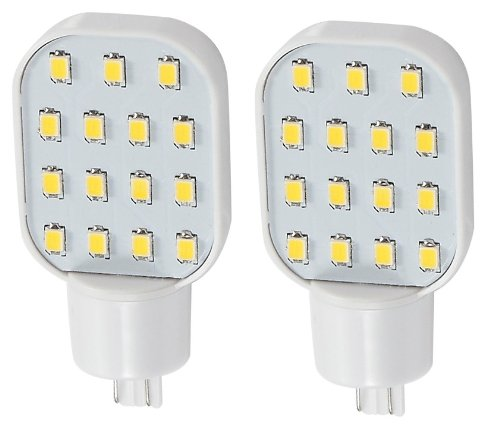2 X Gold Stars 92111804-02 Led Replacement Bulb 921 Base 150 Lum 12 Or 24V Natural White