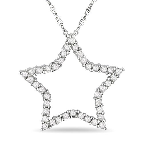 Cheap Diamond Pendants For Sale - JewelleryView.com