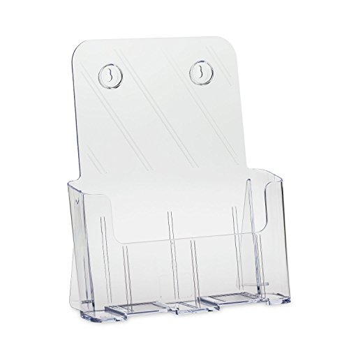 Source One Premium Universal 8.5 X 11 Inches Brochure Holder Magazine Rack, Large (LG-BRO)