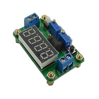 Zcl Jtron Dc4.5~24V To Dc 0.9~20V Constant Voltage And Current Buck W/ 4-Digit Red Led Display