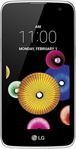LG K4 Smartphone (11,4 cm (4,5 Zoll) Touch-Display, 8 GB interner Speicher, Android 5.1) weiß